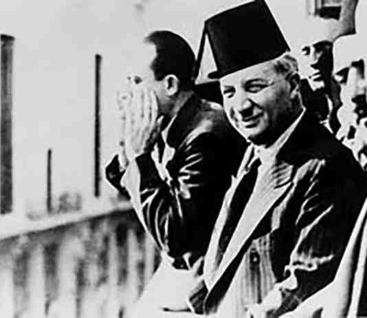 Une Photographie de Riad el Solh, premier premier ministre du Liban après l'indépendance