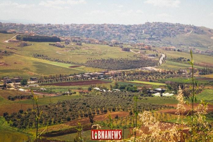 La ville de Khiam vue depuis Marjayoun. Crédit Photo: François el Bacha pour Libnanews.com