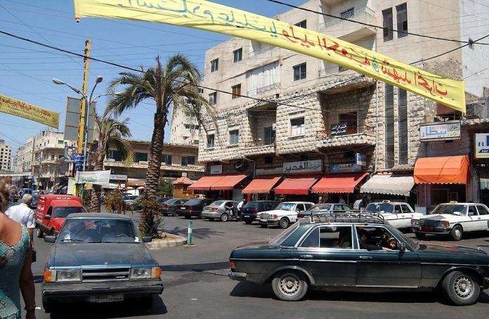 Nabatieh au Sud du Liban. Source: Wikipedia