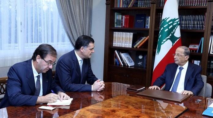 Aoun Farnaud Liban France