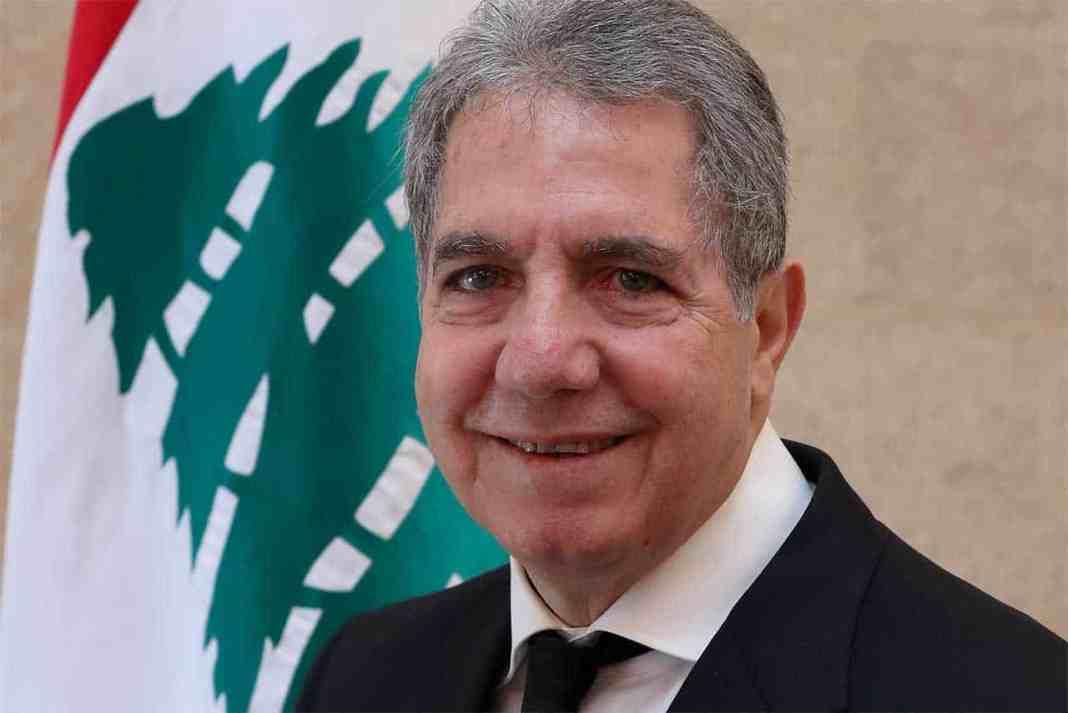 Le ministre des finances du gouvernement de Hassan Diab. Crédit Photo: Dalati & Nohra