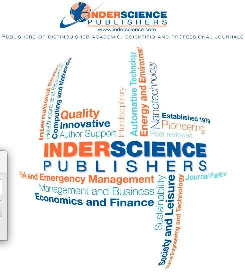 "Revista ""International Journal of Mobile Communications"""