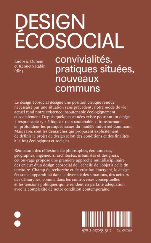 Design Écosocial - Ludovic Duhem Kenneth Rabin - It: éditions