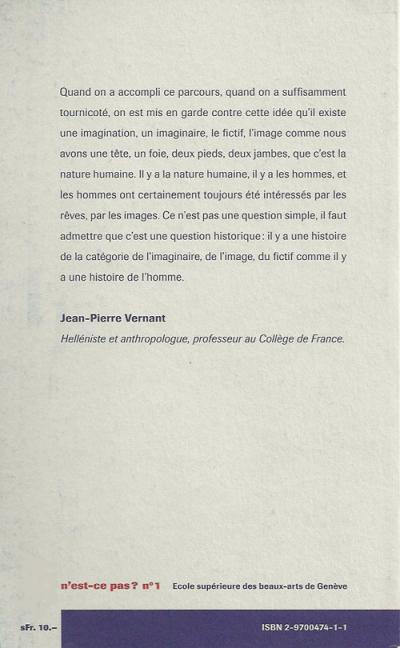 Jean-Pierre Vernant - autour de l'image