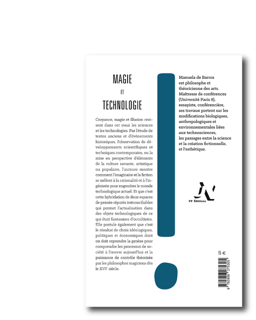 Magie et technologie - Manuela de Barros