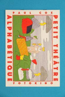 Petit Théâtre Alphabetique - Paul Cox