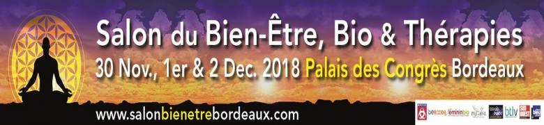 Salon Bien-être, Bio et thérapies au Palais des congrès - novembre/décembre 2018