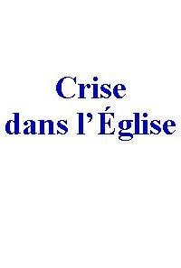 Crise Eglise