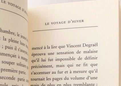 Georges Perec, Le Voyage d'hiver