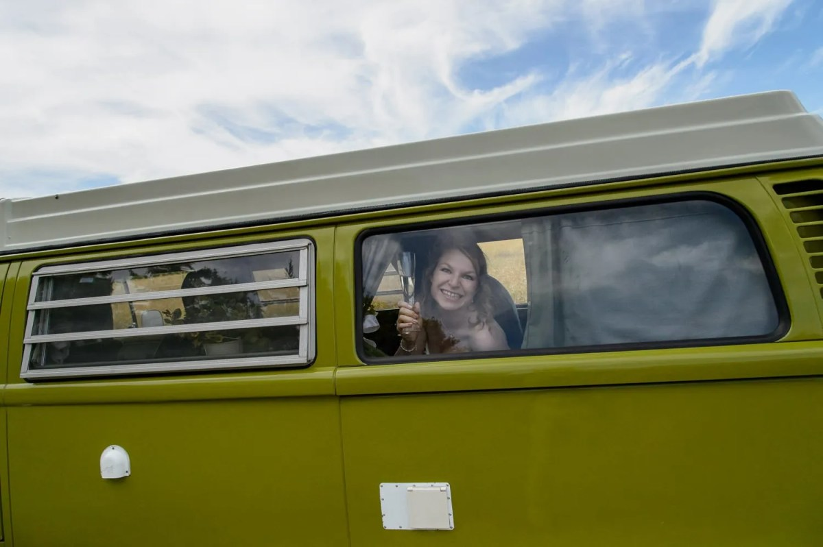 bride-in-dorset-campervan
