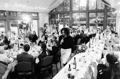 Singing Waiters crash a wedding in Wiltshire