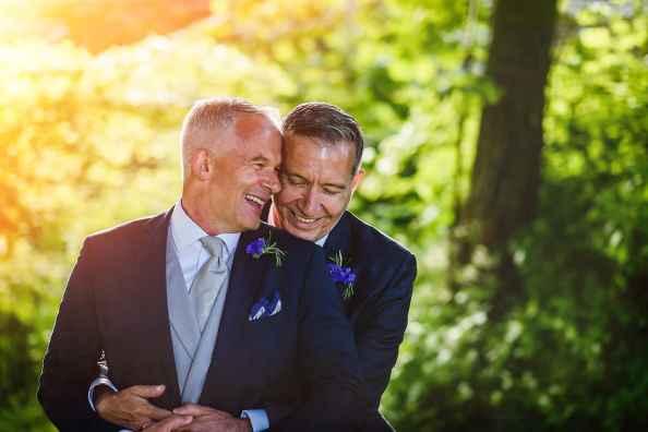 Same sex wedding Purbeck
