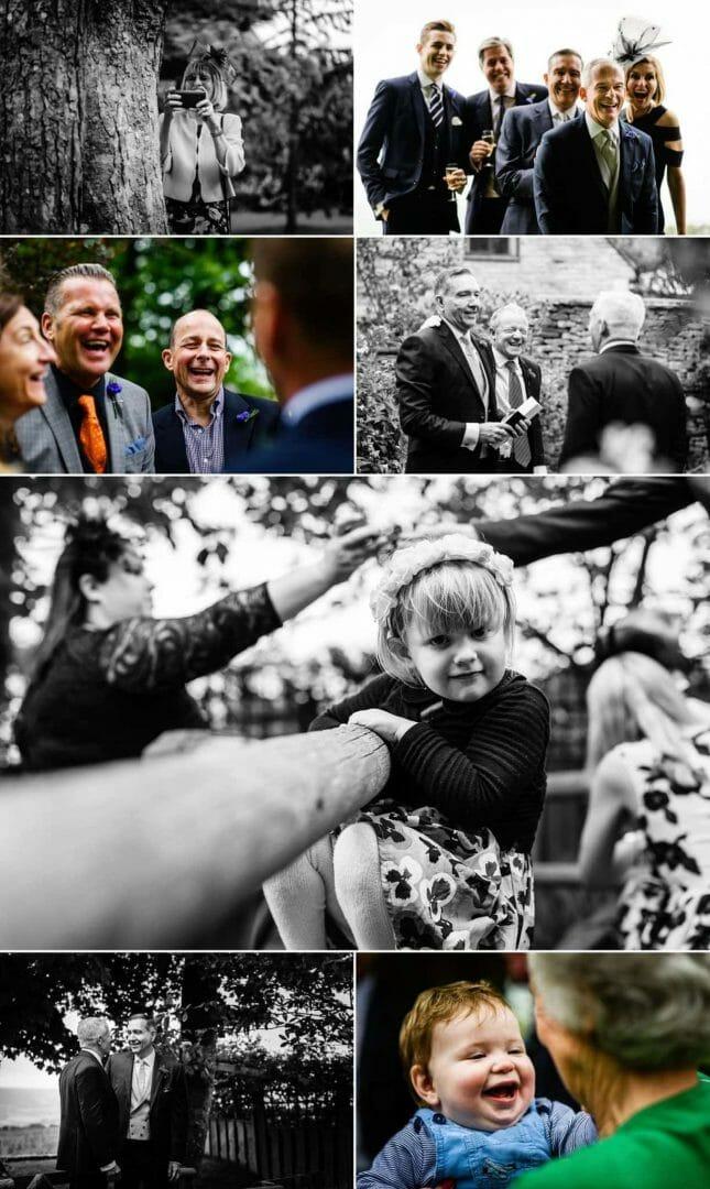 Dorset garden Gay wedding