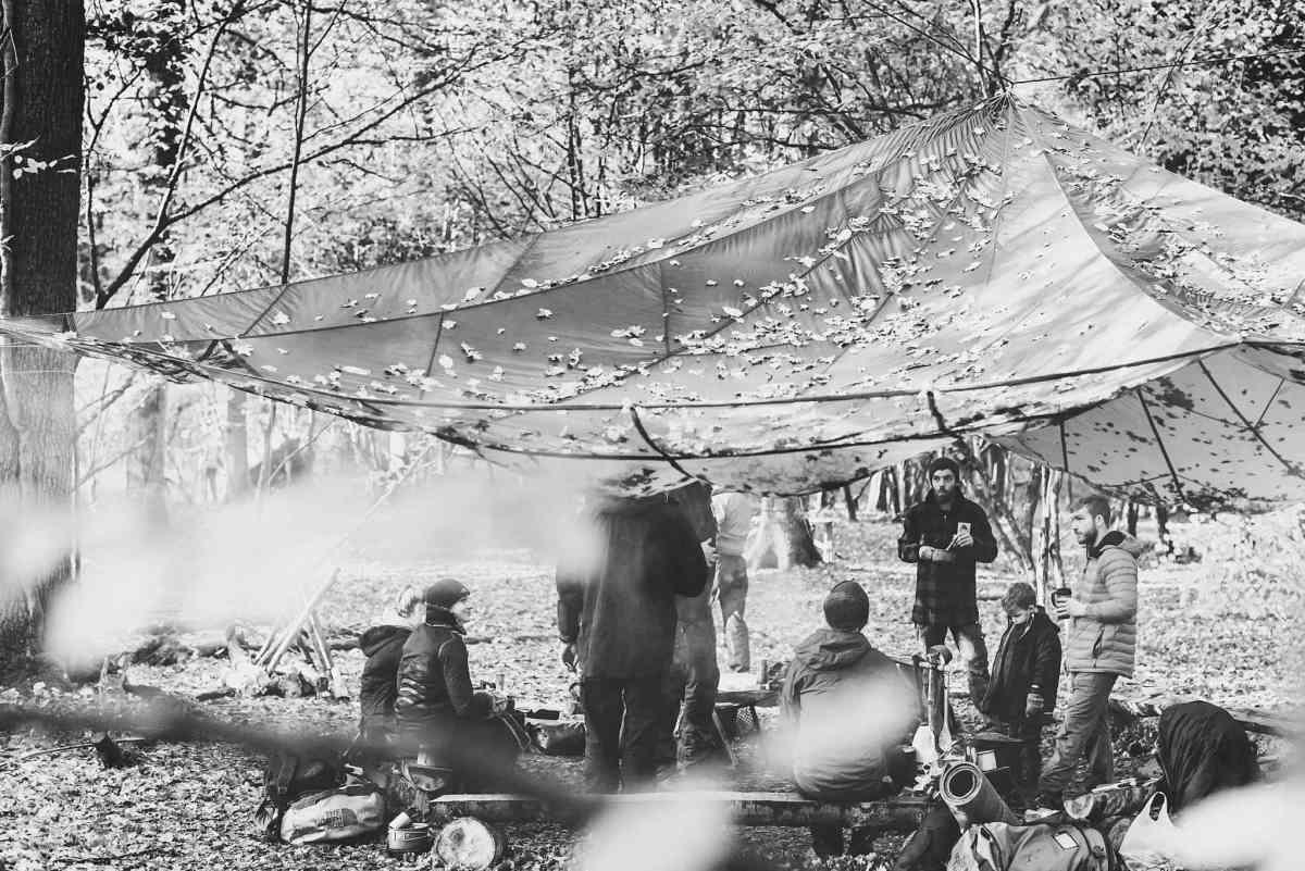 Documentary bushcraft photography