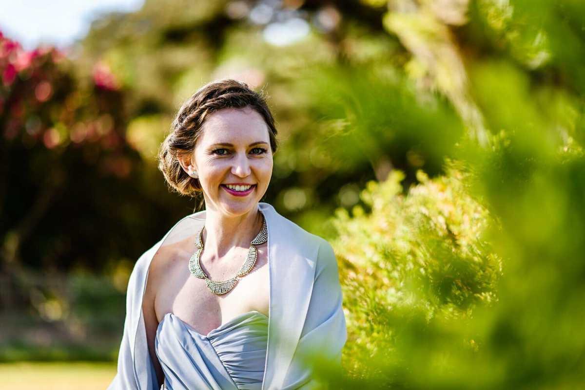 Bridesmaid photos at Studland Bay house wedding