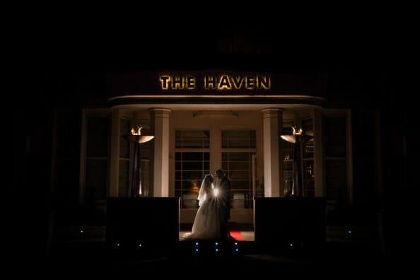 The Haven Hotel Wedding photographer
