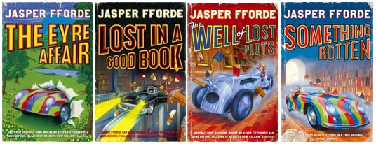 The Thursday Next Series by Jasper Fford