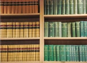 Law Library shelfie