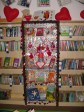 Valentines Love Your Library Display