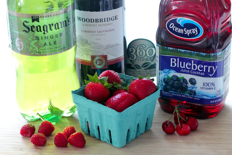ginger berry sangria