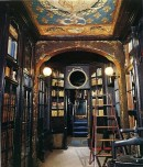 Victor Hugos' Library-Victor Hugo's home library at Guernsey. In October 1855, Victor Hugo arrived on the rainy, wind-swept island of Guernsey seeking refuge. A fierce opponent of the Second Empire of Nap
