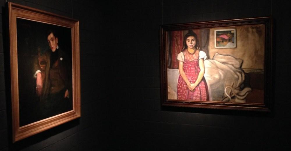 A férfi és Lány az ágy előtt (fotó: Fákó Árpád)