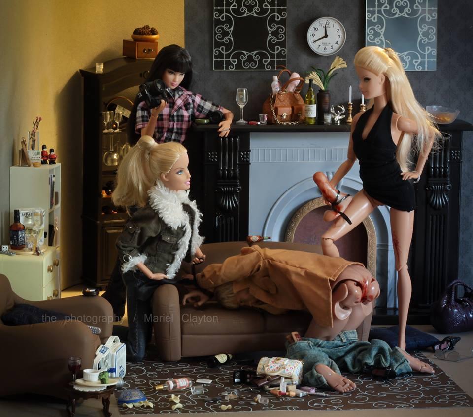 Hátborzongató Barbie-babák
