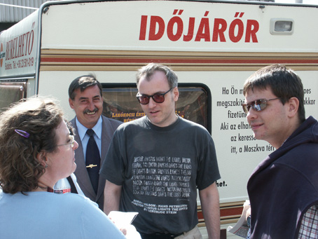 Sugár János: Időjárőr stand
