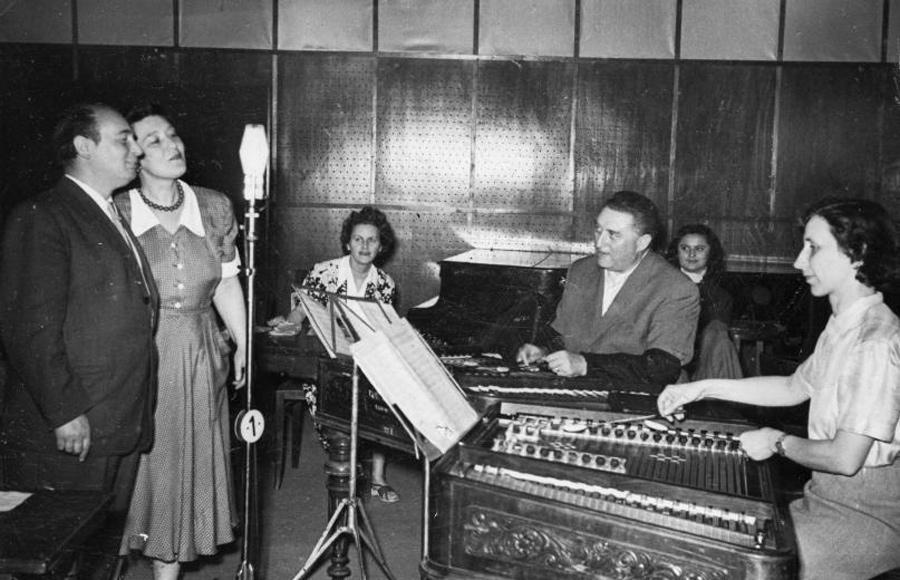Magyar Rádió stúdiója (1952)