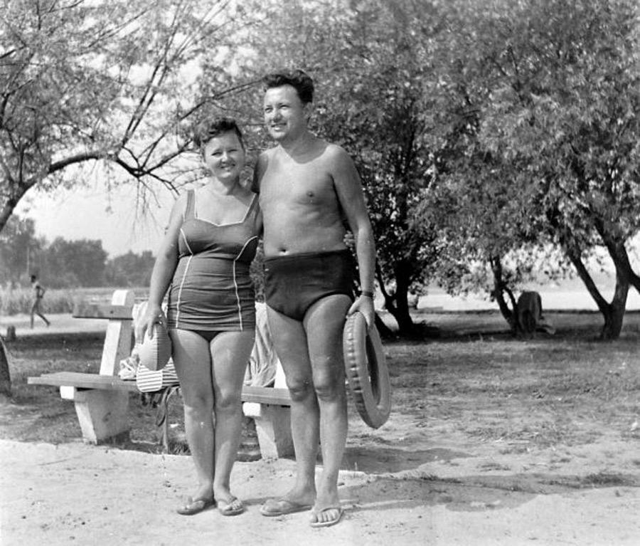 Fürdőruha divat (1956)
