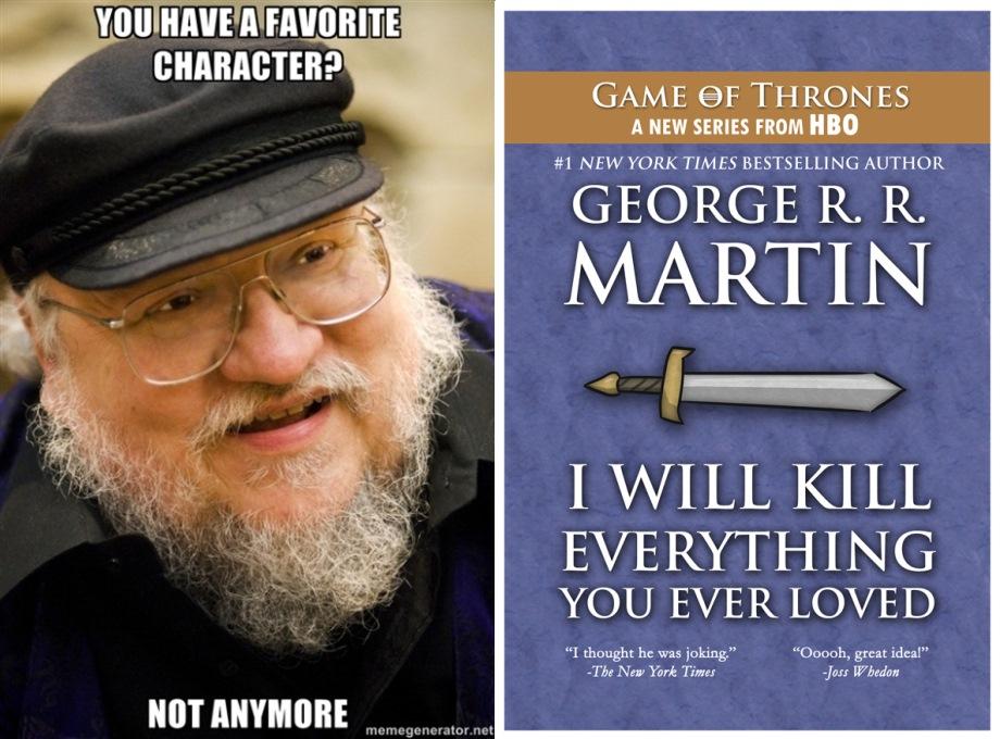 Sajnáljuk inkább George R R Martint