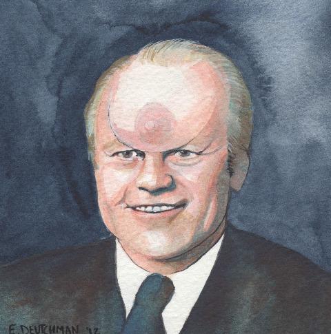 """Szerintem Fordnak van a legnagyobb mellbimbója az összes közül. A végén már a barátim melleivel dolgoztam, így a homlokán lévő kebel, valójában igazi."""""""