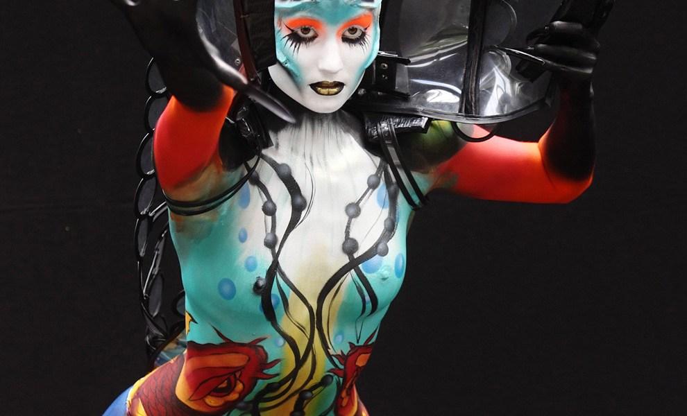 A testfestés nem pornográfia! - interjú Vadócz Edina testfestőművésszel