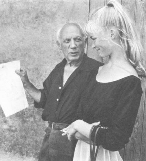 Sylvette és Picasso, Fotó: houseshoot.com