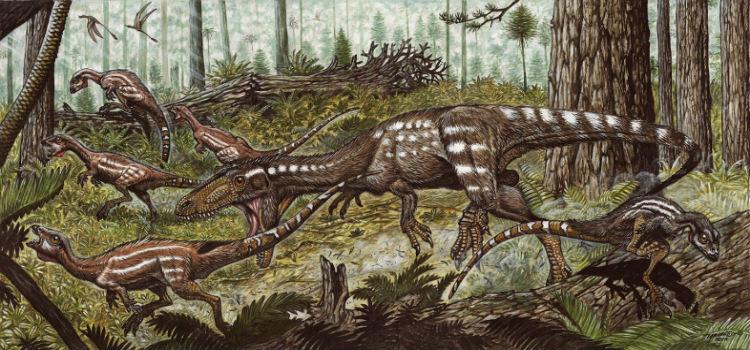 200 millió éves dinoszaurusz csontokra bukkantak