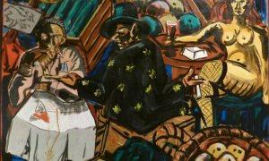 Különleges kiállítással ünnepleljük a berlini fal leomlásának évfordulóját - Immendorff