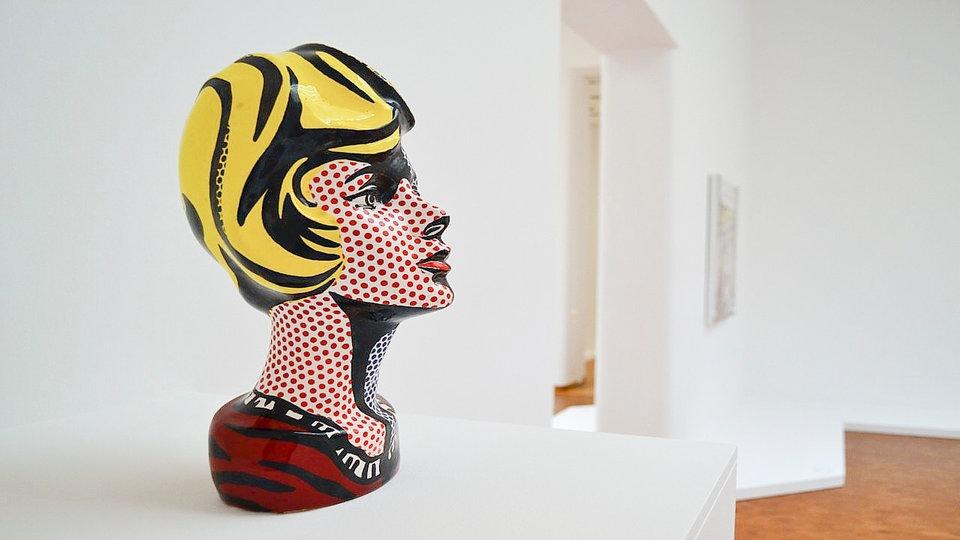 """Lichtenstein """"Szőke"""" című alkotása"""