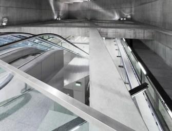 Rangos építészeti elismerés a magyar metrómegállónak