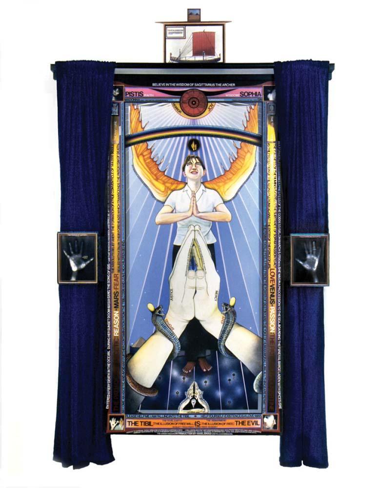 Paul Laffoley, Pistis Sophia, 2004-06. Courtesy Kent Fine Art, Fotó: huffingtonpost