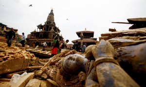nepáli földrengés