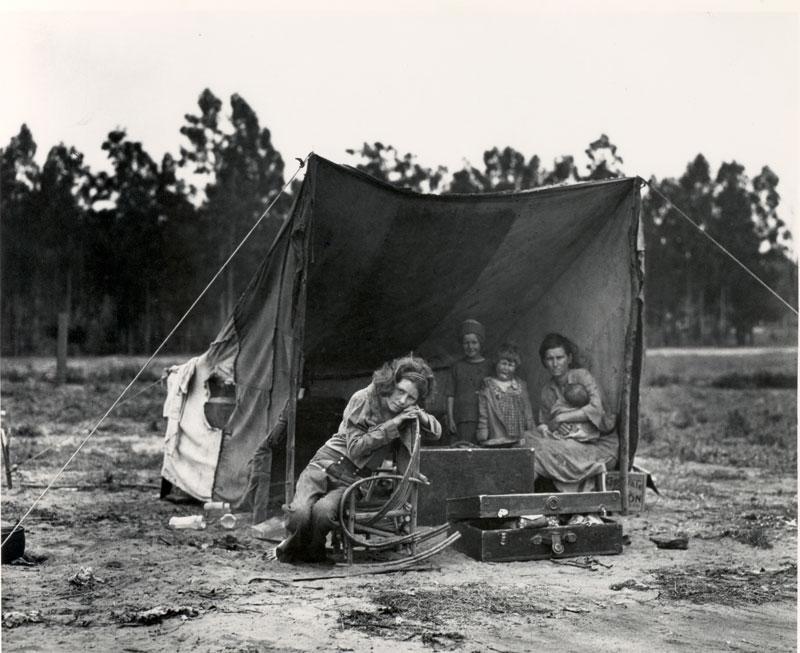 Dorothea Lange@Migrant Mother 2. 1936www.museumca.org