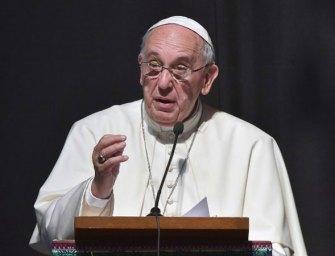 Nyilvánosságra hozták Ferenc pápa megválasztása előtti beszédét
