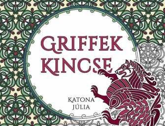 A Griffek kincse ősi mintákkal a legújabb színező
