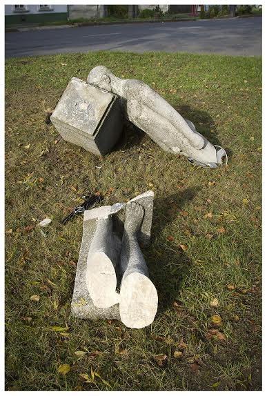 kőszeg szobor  Trifusz Péter