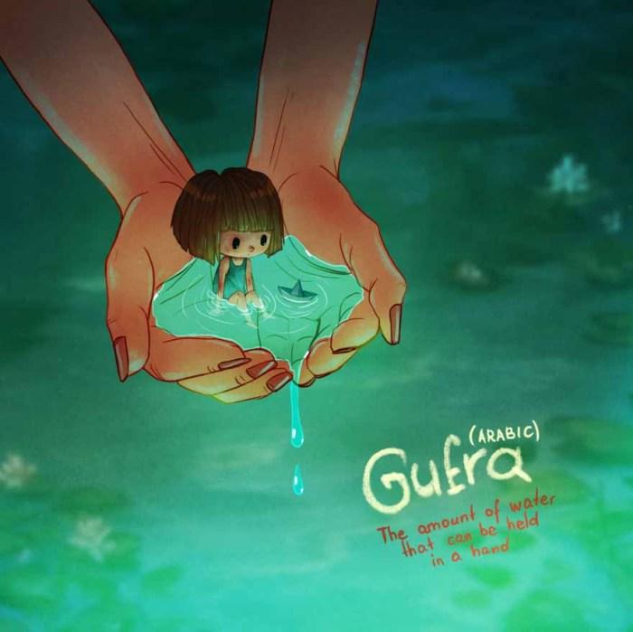 Gufra (arab): Annyi víz, ami pont elfér a kezedben