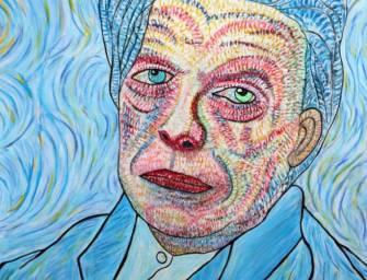 A festő álmában megjelent David Bowie, és ez lett az eredménye