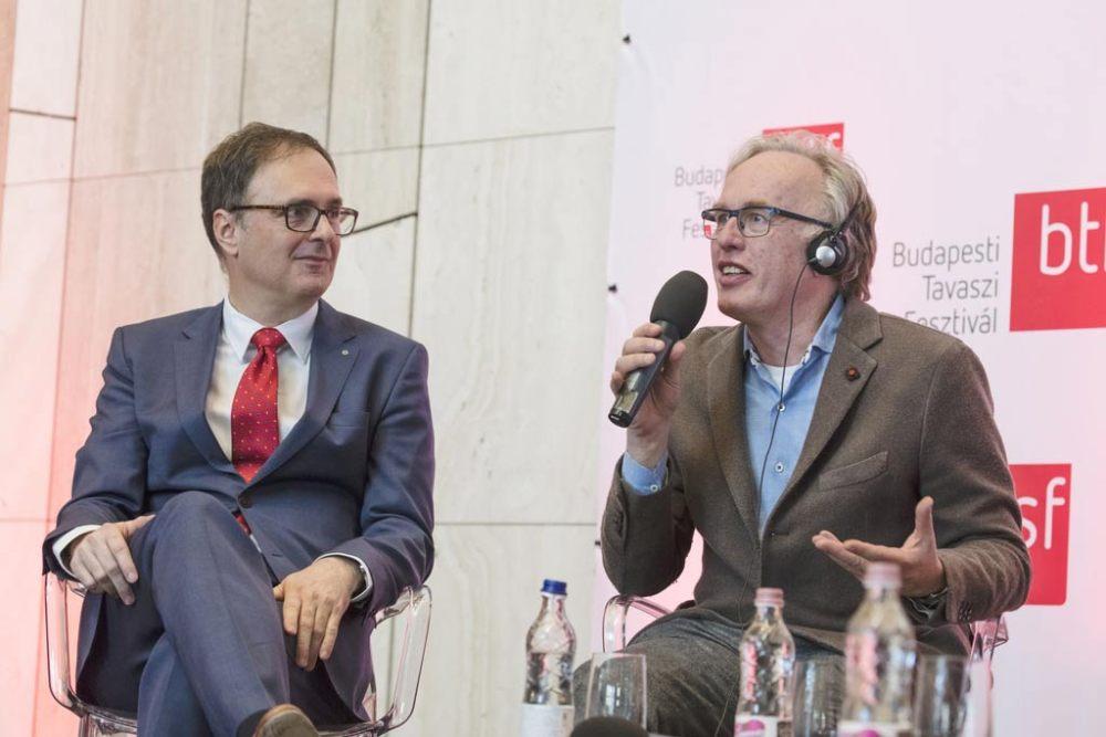Káel Csaba és Martin Haselböck. Fotó: Posztos János.