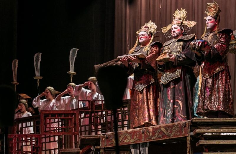 A Turandot az Operában (Forrás: Magyar Állami Operaház)