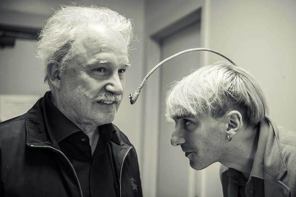 Neil Harbisson és Giorgio Moroder