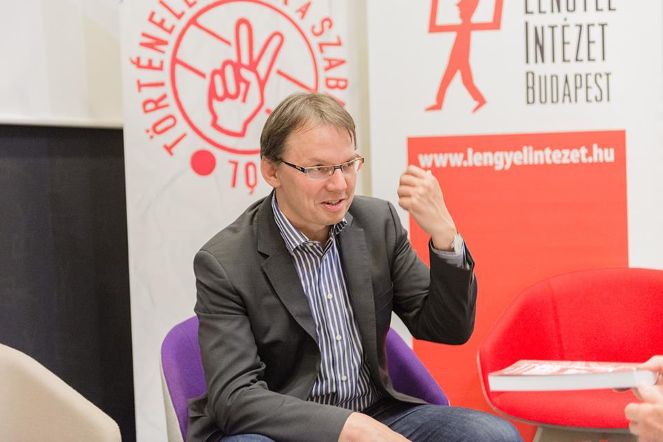Igor Janke a Lengyel Intézetben (forrás: facebook)